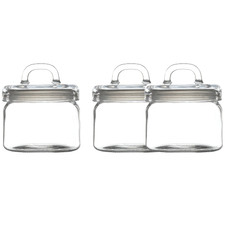 Refresh 750ml Glass Canisters (Set of 3)