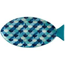 Reef Fish Shaped 40cm Ceramic Platter