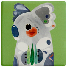 Koala by Pete Cromer Ceramic Coasters (Set of 6)