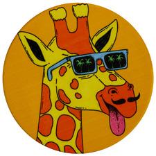 Giraffe by Mulga The Artist Ceramic Coasters (Set of 6)