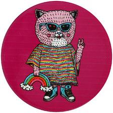 Cat by Mulga The Artist Ceramic Coasters (Set of 6)