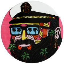 Captain by Mulga The Artist Ceramic Coasters (Set of 6)