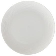 White Basics Diamonds 18cm Porcelain Side Plates (Set of 6)