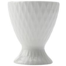 White Basics Diamonds Egg Cups (Set of 6)