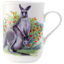 Kangaroo Cashmere Animals of Australia 300ml Mug