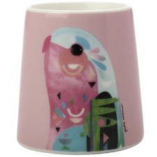 Parrot by Pete Cromer Egg Cups (Set of 6)