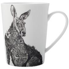Marini Ferlazzo Tall Red Kangaroo 450ml Mug