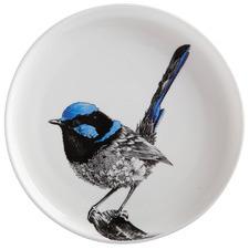 Marini Ferlazzo Birds Fairy Wren 20cm Side Plate