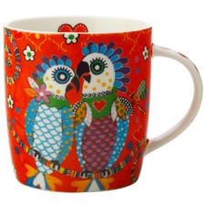 Fan Club Love Hearts 370ml Porcelain Mug