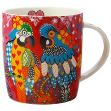 Araras Love Hearts 370ml Porcelain Mug