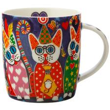 Cup Cakes Love Hearts 370ml Porcelain Mug