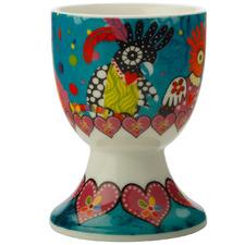 Chatter Love Hearts Porcelain Egg Cups (Set of 6)