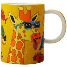 Giraffe by Mulga The Artist 450ml Mug