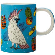 Cockatoo by Mulga The Artist 450ml Mug