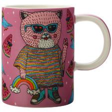 Cat by Mulga The Artist 450ml Mug