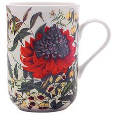 Waratah Royal Botanic Garden by Euphemia Henderson 300ml Mug