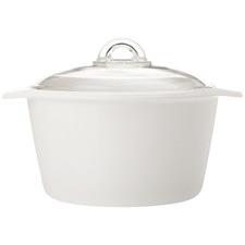White Vitromax 3L Round Casserole Dish