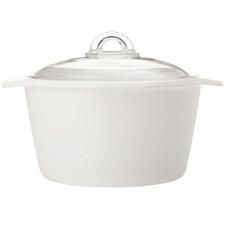 White Vitromax 5L Casserole Dish