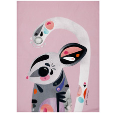 Sugar Glider by Pete Cromer Cotton Teatowel