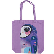 Owl by Pete Cromer Cotton Tote Bag