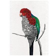 Marini Ferlazzo Birds Parrot Cotton Teatowel