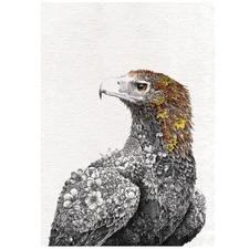 Marini Ferlazzo Birds Wedgetail Eagle Cotton Teatowel