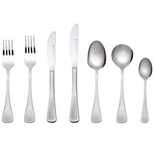 42 Piece Cosmopolitan Stainless Steel Cutlery Set