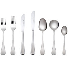 56 Piece Cosmopolitan Stainless Steel Cutlery Set