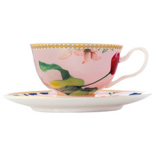 Rose Teas & C's Contessa 200ml Footed Cup & Saucer Set