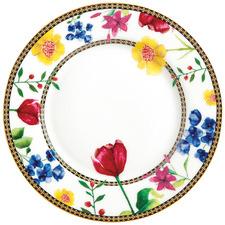 White Teas & C's Contessa 20cm Rim Side Plate
