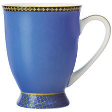 Blue Teas & C's Contessa Classic 300ml Footed Mug
