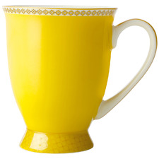 Yellow Teas & C's Contessa Classic 300ml Footed Mug