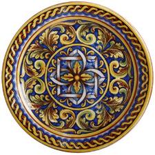 Duomo Ceramica Salerno 26.5cm Dinner Plates (Set of 6)