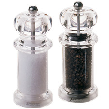 2 Piece Classic Salt & Pepper Mill Set