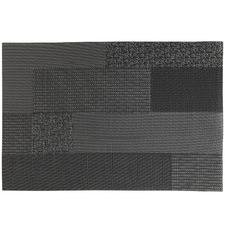 Black Blocks Placemats (Set of 12)