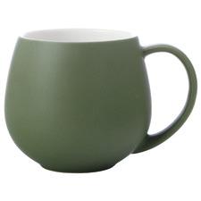 Green Tint 450ml Mini Snug Mugs (Set of 6)