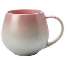 Ombre Pink Lumi 450ml Porcelain Mugs (Set of 6)