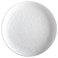 White Panama 36cm Round Platter