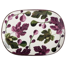 Fig Garden 45cm Oval Ceramic Platter
