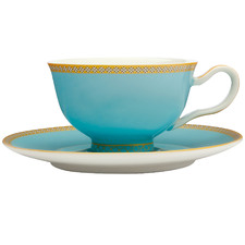 Turquoise Teas & C's Kasbah Classic 200ml Footed Cup & Saucer