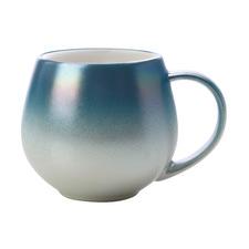 Ombre Blue Lumi 450ml Porcelain Mugs (Set of 6)