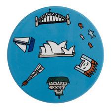 Sydney Megan Mckean Cities Ceramic Coasters (Set of 6)