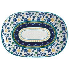Blue Rhapsody 40cm Oval Platter