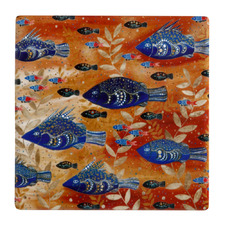 River Life Melanie Hava Jugaig-Bana-Wabu Ceramic Coasters (Set of 6)