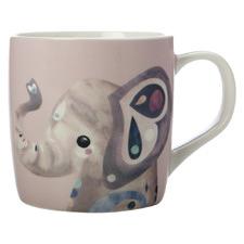 Elephant Pete Cromer Wildlife 375ml Mug