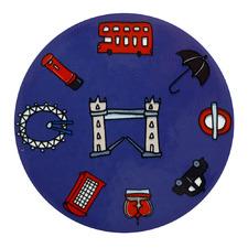 London Megan Mckean Cities Ceramic Coasters (Set of 6)