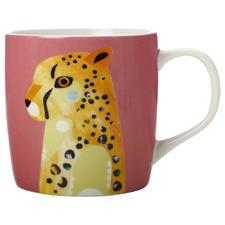 Cheetah Pete Cromer Wildlife 375ml Mug