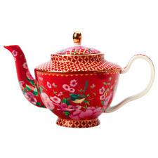 Cherry Red Teas & C's Silk Road 500ml Teapot with Infuser