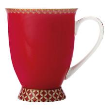 Cherry Red Teas & C's Classic 300ml Footed Mug