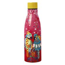 500ml Araras Love Hearts Double Wall Bottle